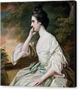 Portrait Of Miss Anne Dutton Canvas Print