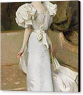 Portrait Of The Countess Of Clary Aldringen Canvas Print by John Singer Sargent