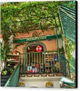 Positano Deli Canvas Print by Bob and Nancy Kendrick