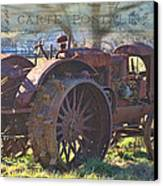 Postcard From The Past Canvas Print by Kathy Jennings
