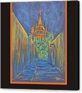 Poster - Parroquia From The Back Canvas Print by Marcia Meade