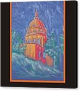 Poster - The Basilica Canvas Print by Marcia Meade