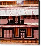 Potala Palace Rooftop - Lhasa Tibet Canvas Print