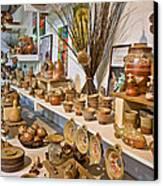 Pottery In La Borne Canvas Print by Oleg Koryagin