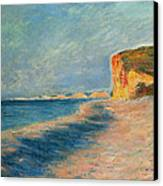 Pourville Near Dieppe Canvas Print