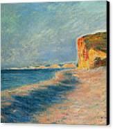 Pourville Near Dieppe Canvas Print by Claude Monet
