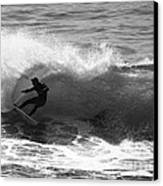 Power Carve Surfer Photo Canvas Print by Paul Topp