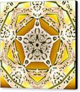 Power Of Gold Canvas Print by Derek Gedney