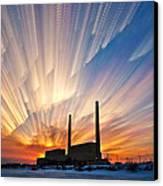 Power Plant Canvas Print by Matt Molloy