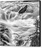 Power Stream Canvas Print by Jon Glaser