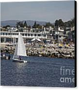 pr 193 - The Sailboat Canvas Print by Chris Berry