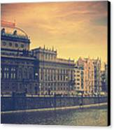 Prague Days Canvas Print by Taylan Apukovska