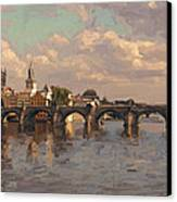 Prague Canvas Print by Nop Briex