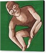 Pre-colombian Artifacts 1 Canvas Print by Kiara Reynolds