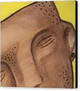 Pre-colombian Artifacts 4 Canvas Print by Kiara Reynolds