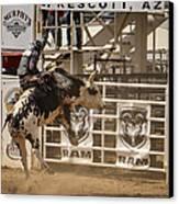 Prescott Az Rodeo Canvas Print by Jon Berghoff