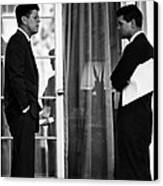 President John Kennedy And Robert Kennedy Canvas Print