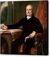 President John Quincy Adams  Canvas Print