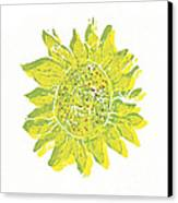 Pretty Sunflower  Canvas Print by Lynn-Marie Gildersleeve