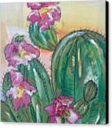 Prickly Pear Canvas Print by Karen Carnow