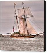 Pride Of Baltimore Canvas Print by Kathleen Struckle