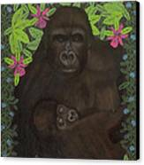 Primordial Spirit Of Motherhood Canvas Print