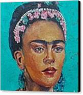 Princess Frida Canvas Print by Lilibeth Andre