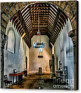 Priory Church Of St Seiriol Canvas Print by Adrian Evans