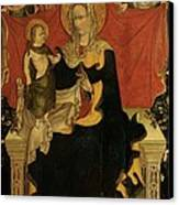 Probably Artista Veneziano, Madonna Canvas Print by Everett