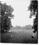 Prospect Park Brooklyn 1900 Canvas Print by Steve K