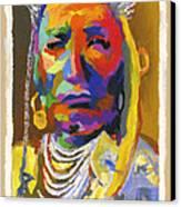 Proud Native American Canvas Print