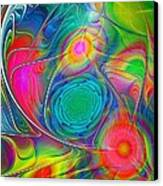 Psychedelic Colors Canvas Print