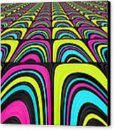 Psychel - 003 Canvas Print by Variance Collections