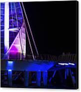 Puerto Vallarta Pier Canvas Print by Aged Pixel