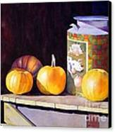 Pumpkiins At Collier Farm Canvas Print