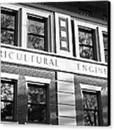 Purdue University Agricultural Engineering Canvas Print