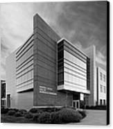 Purdue University Jischke Hall Of Biomedical Engineering Canvas Print by University Icons