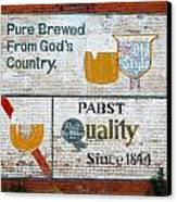 Pure Brewed Canvas Print