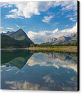 Purely Alberta Canvas Print by Laura Bentley