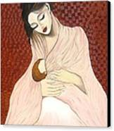 Purest Form Of Love Canvas Print by Rejeena Niaz