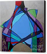 Purim Feast Of Lots Canvas Print by Marlene Burns
