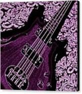 Purple Bass Canvas Print by Chris Berry