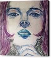 Purple Haze Canvas Print by Agata Suchocka-Wachowska