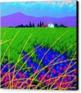Purple Hills Canvas Print by John  Nolan