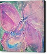Purple Orchid Canvas Print by M C Sturman