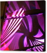 Purple Swirls Canvas Print by Eva Kato