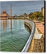 Putra Mosque Canvas Print