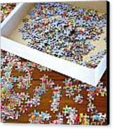 Puzzle Of Life  Canvas Print by Bobby Mandal