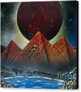 Pyramids 4663 Canvas Print