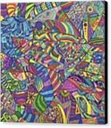 Quantum Qarma Canvas Print by Ty DAvila